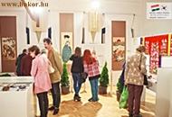 Selyemhímzés kiállítás