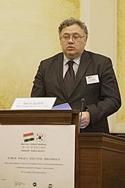 Ijgyarto Istvan, Külgazdasagi és Külügyminiszterium allamtitkara