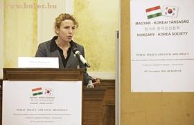 Milena Andreeva elnök, Bolgar-Koreai Interk. Egy. Egyesület