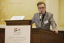Vlastimir Jurecka, a Cseh-Koreai Tarsasag delegaltja