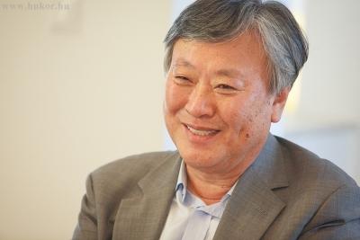 Yi Mun-Yol világhírű koreai író Társaságunk meghívására érkezett Magyarországra