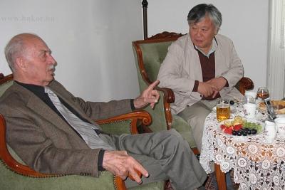 Galgóczi Árpád és Yi Mun-Yol találkozása